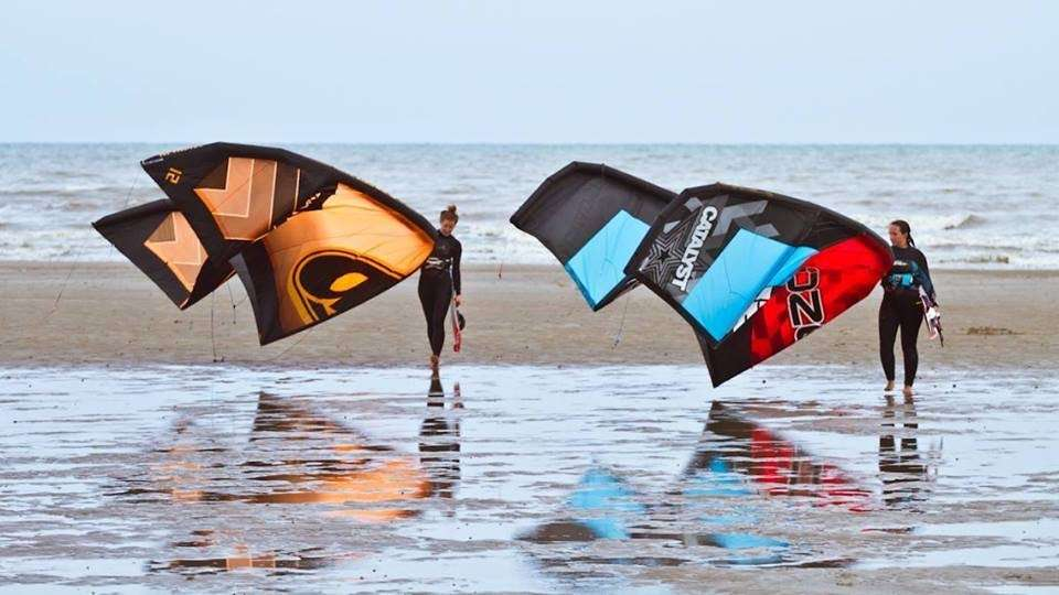 Kite Surfing in Camber Sands