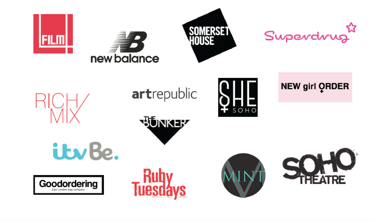 brands worked with nonchalant magazine