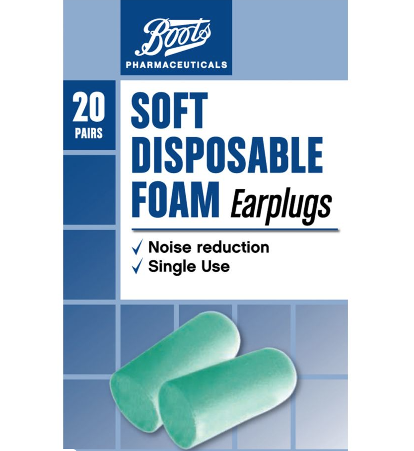 boots soft ear plugs
