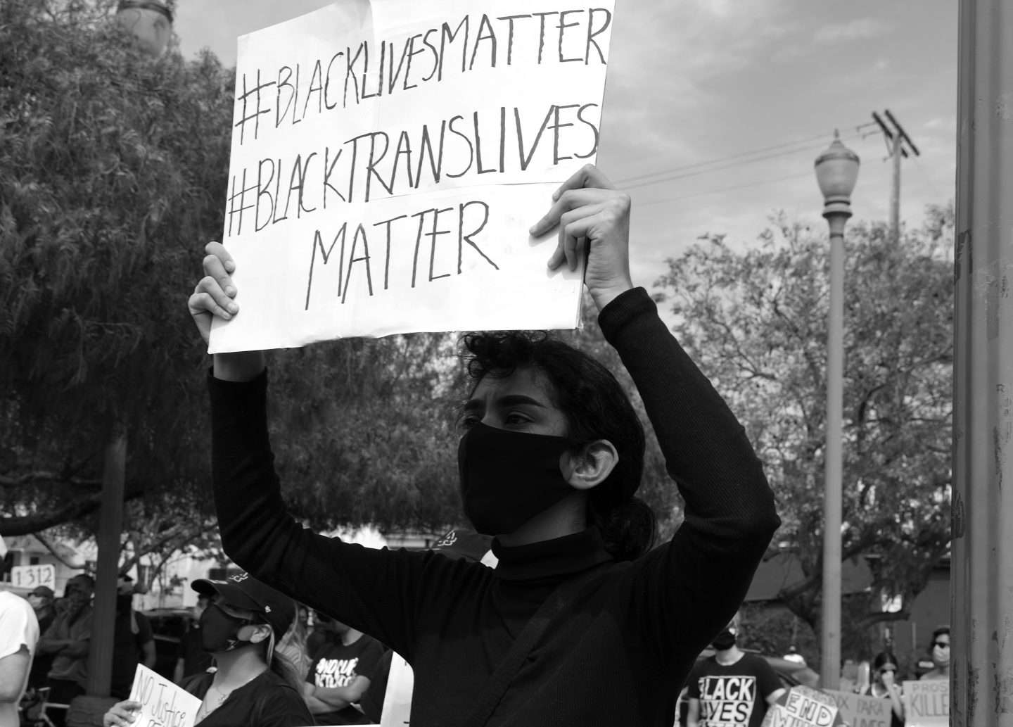 Image from the Black Lives Matter Protest