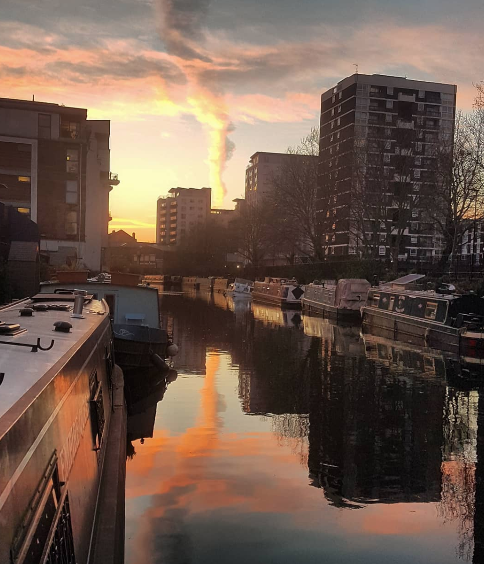 boat picture of canal