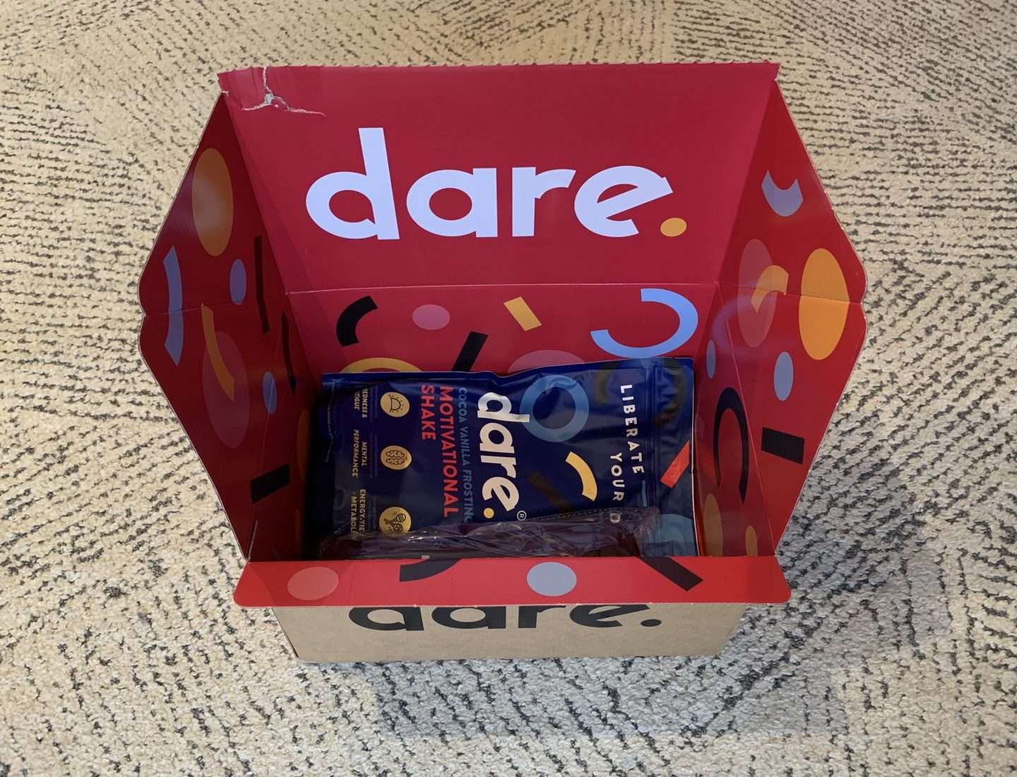 dares sustainable packaging
